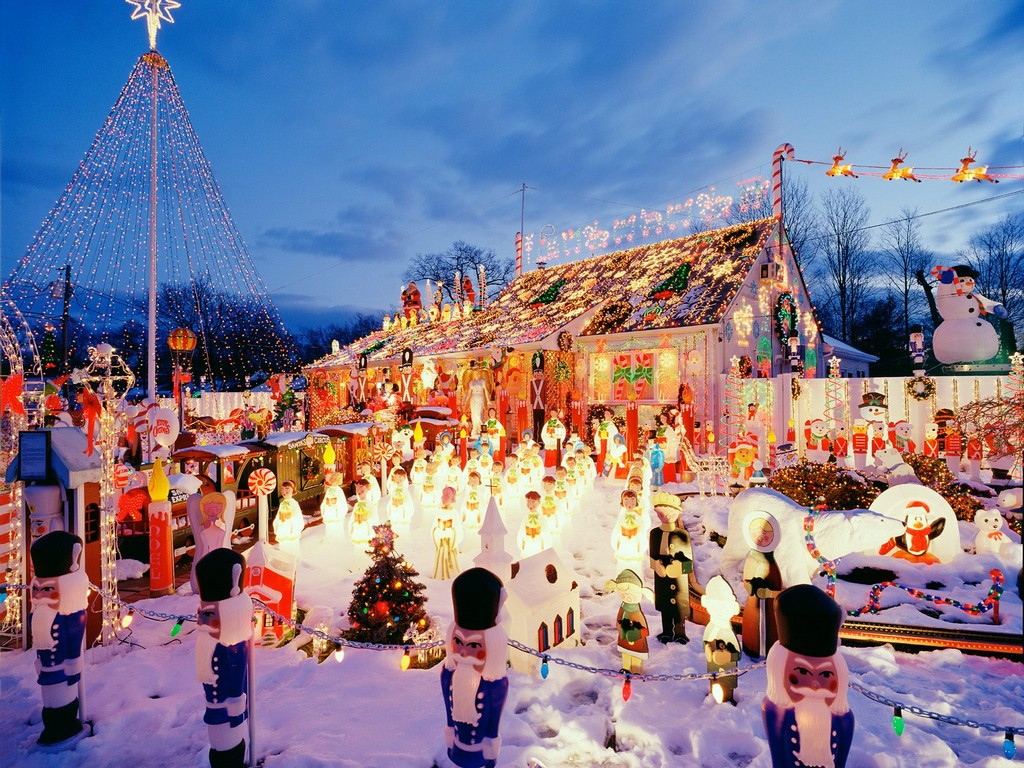 christmas village sets, christmas village vintage, rudolph christmas village