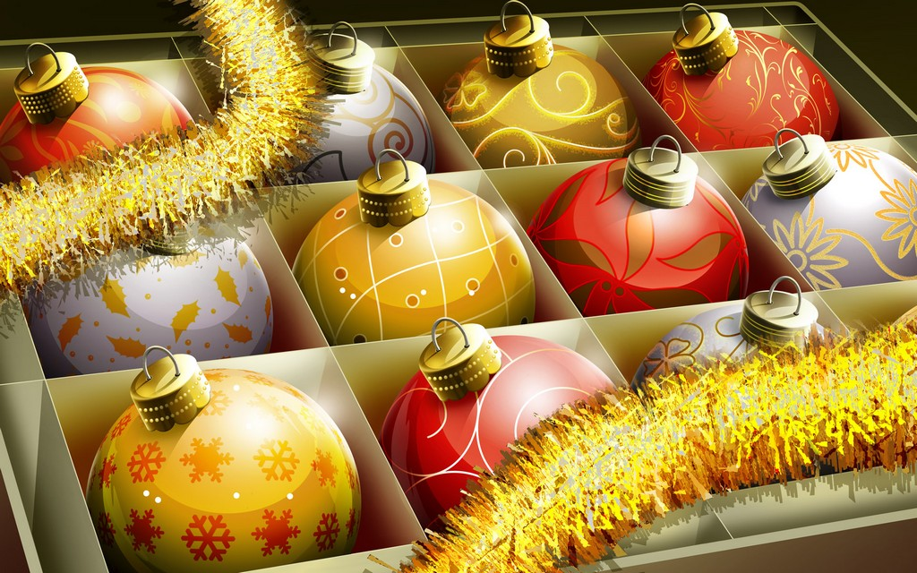 christmas ornament clip art, christmas clipart borders