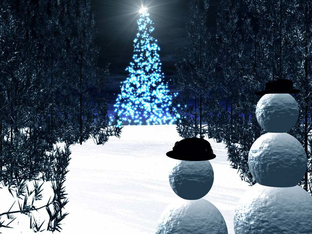 merry christmas, christmas tree, christmas screensavers, white christmas
