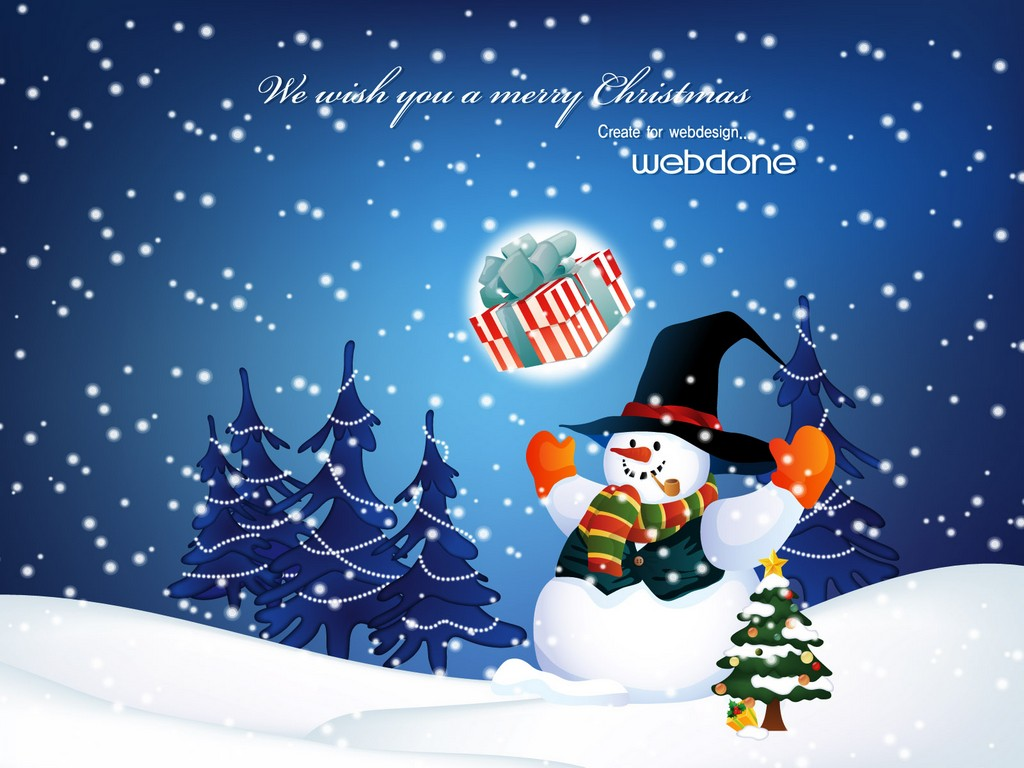 funny christmas wallpapers, free christmas wallpapers, christmas scenes wallpapers