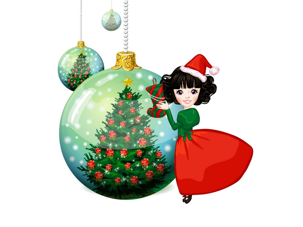 cartoon christmas tree, christmas tree coloring page, christmas tree candles
