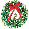 Outdoor Christmas Decorations Wreaths